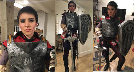 Cassandra Pentaghast Cosplay Costume 2016 by Jarahamee