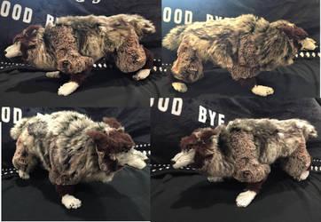 Verne Werewolf Plush by Jarahamee