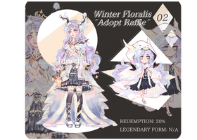 [CLOSED] Winter Floralis Raffle! by luo-chan
