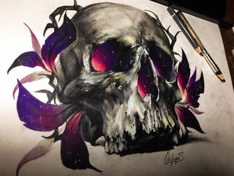 Skull by Yes-Cheees