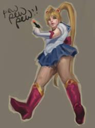 Sailormoon by kahla