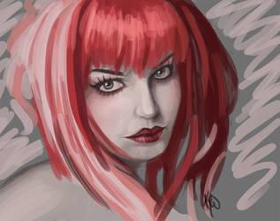 Emilie doodle by kahla