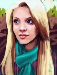 A girl on reddit. by kahla