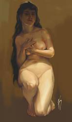 Bouguereau study by kahla