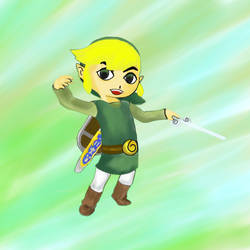 Toon Link by daftgreen