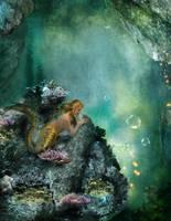 Mermaid Looking by Tiger-tyger