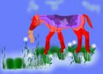 SWF Purple Fyre by Song-Wolf-Farm