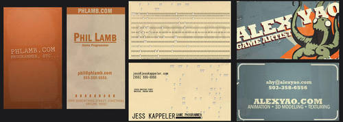 Business Cards by KruddMan