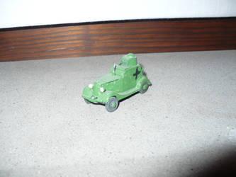 BA-20M Light Armored Car - Scale 1/72 by Davi80