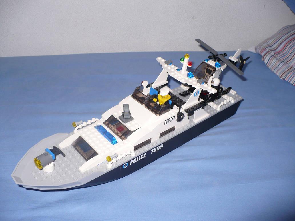 LEGO Ship Police by Davi80