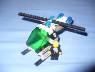 LEGO Elicopter Police by Davi80