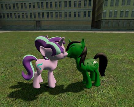 My Pony OC Kissing Starlight by Fernando-Fontes-64