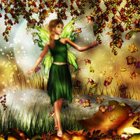 Fall Fairy by Chris10