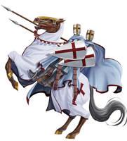 Knights Templar Seal - JF by Jangelles