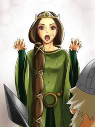 TugaMaggie 162 15 Queen Elinor Human Ver Brave By DarikaArt