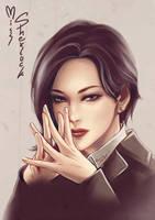 Miss Sherlock by DarikaArt