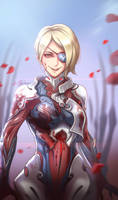 Warframe  - Garuda the Queen of Goregeous Gore by DarikaArt