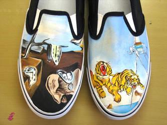 Salvador Dali shoes by vcallanta