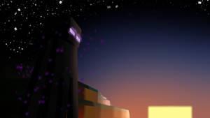 Endermans Sunset by VeeVeeNightingGale