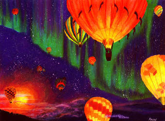 Night Voyage by SlytherclawPadawan