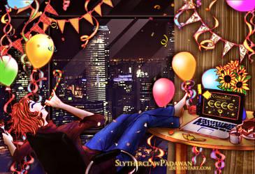 Best Birthday Present Ever (Night Version) by SlytherclawPadawan
