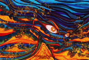 Underwater Volcano v.2 by SlytherclawPadawan
