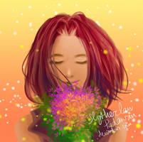 [Quick Drawing] #5 Fae Shirayuki by SlytherclawPadawan