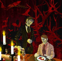 Devils' Dinner v.3 Darker Background by SlytherclawPadawan