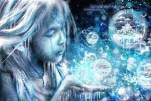 Winter Spirit's Dreams v.1 Original (Cyan) by SlytherclawPadawan