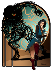 Sabriel and the Mordicant by RenginTumer