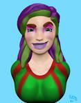 Spunky Girl by NinjaObsessed