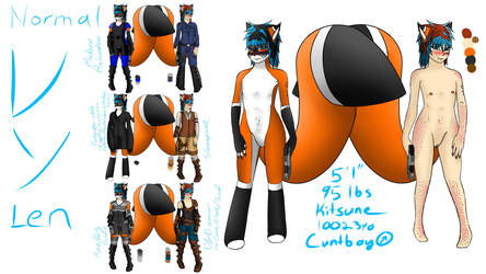 2016  Ref Sheet Uncensored by Endromida
