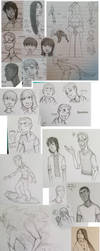 [Dreamcatchers] sketchdump by stephsin2kh