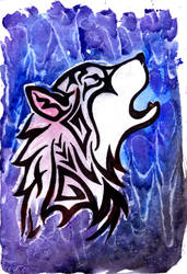 Tribal Wolf by Doubtful-Della