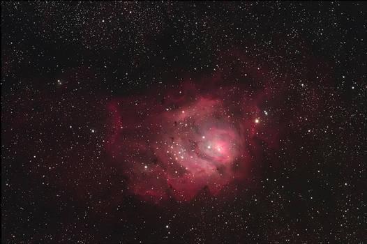 M8 laguna nebula by redkojimax