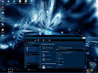 My dark desktop by Berni8