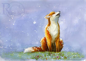 Welcome First Snow by Rosakaz