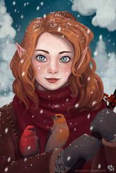 Pale Amber by Rosakaz