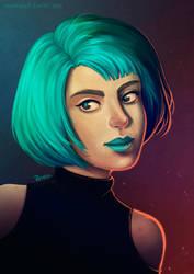 Synthetic Cosmic Mint by Rosakaz