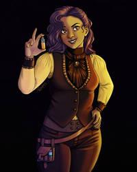 Mirembe the Vampire Hunter by Rosakaz