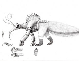 Monster Concept: Chupacabra by tod309