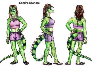 Sandra Model Sheet by tod309