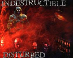 Disturbed Indestructible Wall by shadowsfall720