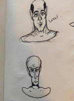 Those facus - My sketchbook by Orbz-Firefly