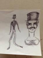 Spagetti legs - My sketchbook by Orbz-Firefly