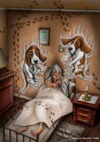 'The Mischievous Ghost' Art by ed-norden