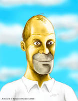 'Portrait of Mr. Simpson' by ed-norden