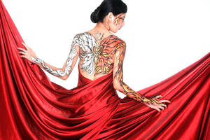 dualism butterfly by ikie
