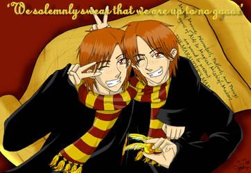 The Weasley Twins by lilkuma