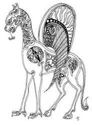 Celtic Creature by rissdemeanour